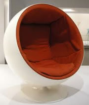 The Ball Chair by Eero Aarnio