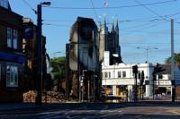 London riots furniture shop will not be rebuilt