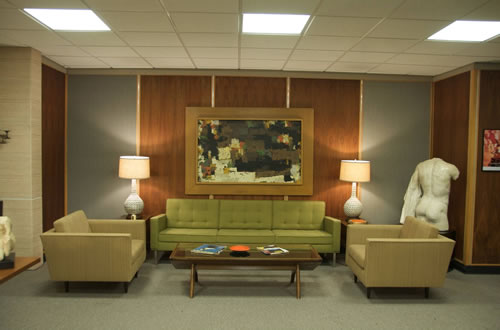 The Mad Men Style is all in the Classic Furniture